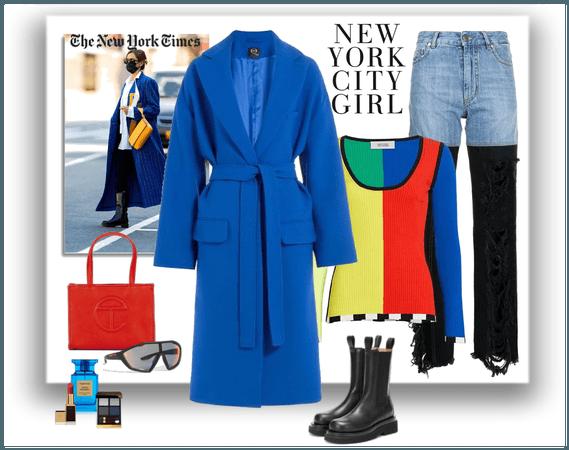 My interpretation of New York Street Style AW 2021