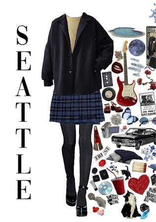 seattle, the birthplace of grunge
