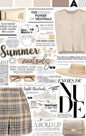 summer neutrals. 🥐