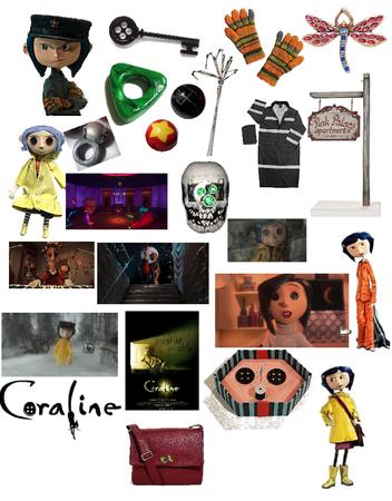 Loungefly Coraline Cosplay Messenger Bag Shoplook