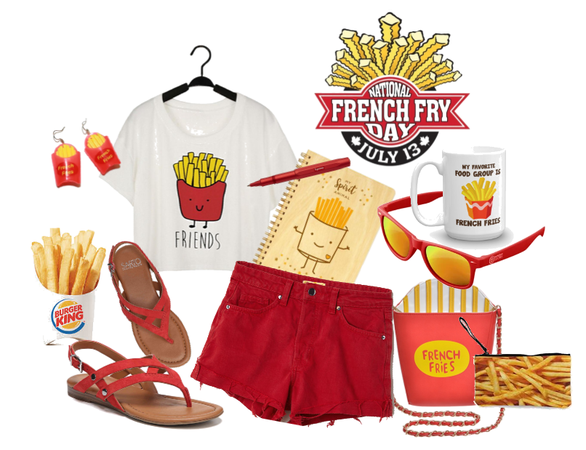 National French Fries day July 13