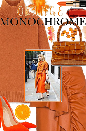 🧡🍊 Orange Monochrome 🍊🧡