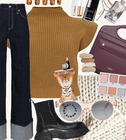 fall chunky knits