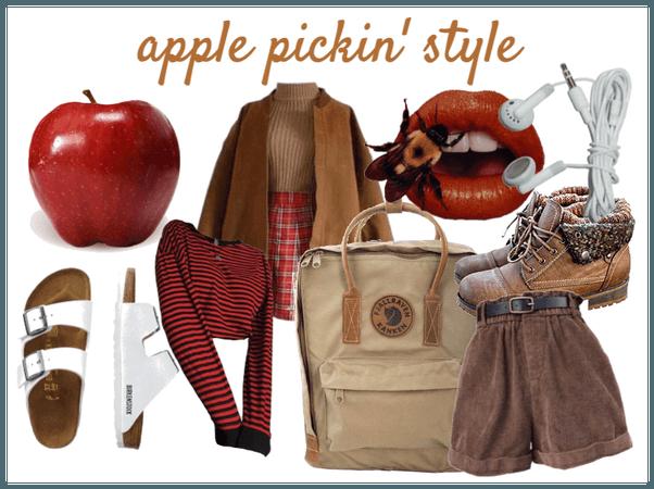 Apple pickin look