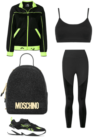 Athleisure Outfit for PMSing 30-year-old