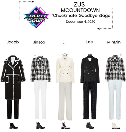 Zus// 'Checkmate' M Countdown Goodbye Stage