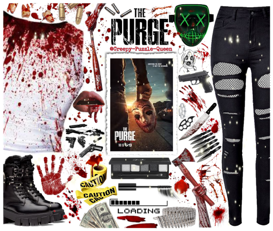 #The-Purge-Outfit-Challenge