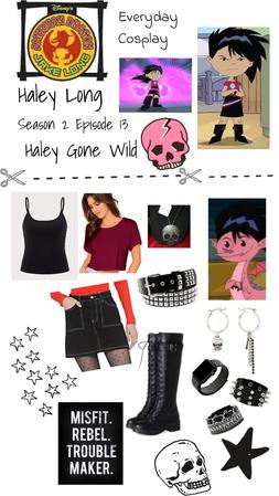 American Dragon: Jake Long - Haley Long Bad Girl Disneybound