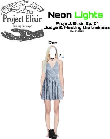 Neon Lights Ren on Project Elixir Ep. 01