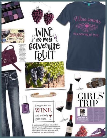 Fruit Fashion: Grapes/Girls Trip/Winery