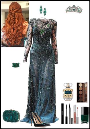 green gown (Tara)