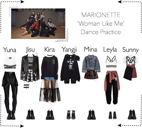 MARIONETTE (마리오네트) [Dance Practice] 'Woman Like Me'