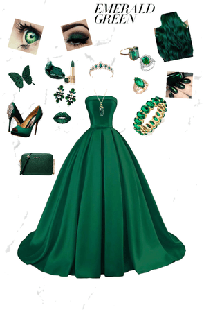 #Emerald green