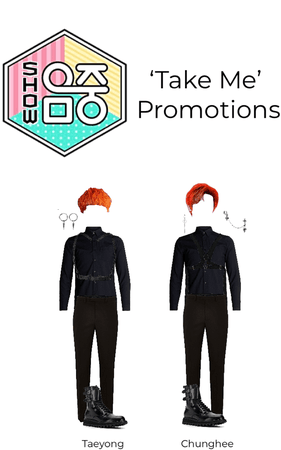 'Take Me' Promotions: Music core