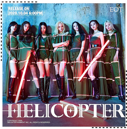 EOT(내일의황후) | 'HELICOPTER' Group Concept Photo
