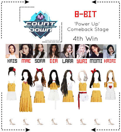 ⟪8-BIT⟫ 'Power Up' Comeback Stage #10 - M Countdown