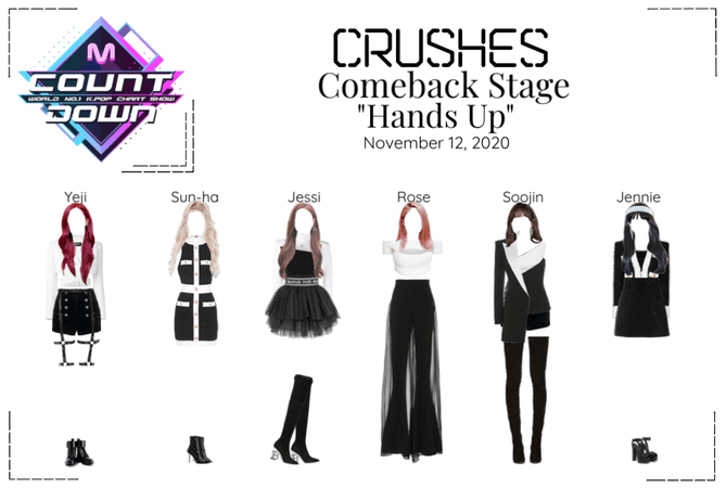 """Crushes (호감) """"Hands Up"""" Comeback Stage"""