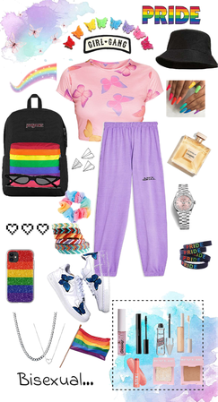 bisexual inspired outfit