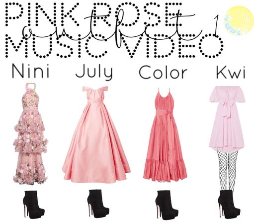 pink rose music bideo