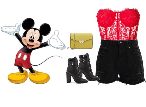 Mickey Mouse Disney Bounding