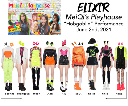 "ELIXIR (엘릭서) ""Hobgoblin"" performance on MeiQi's Playhouse"