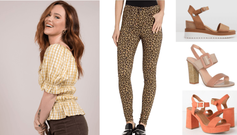 Leopard + Gingham | How to Mix Trendy Patterns