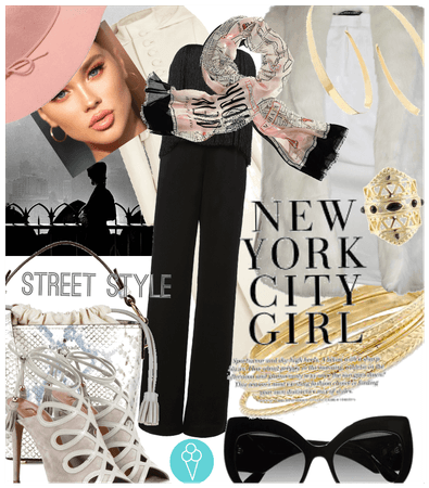 # New York # Shoplook # Street style # Summer into