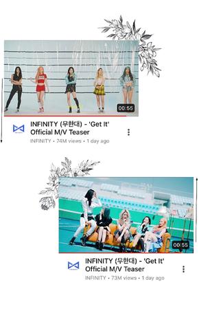 INFINITY (무한대) - 'Get It' M/V Teaser