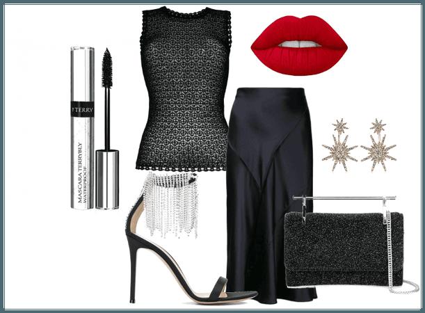 glamour in black