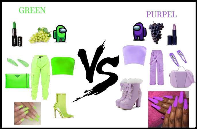 Purple Or Green???