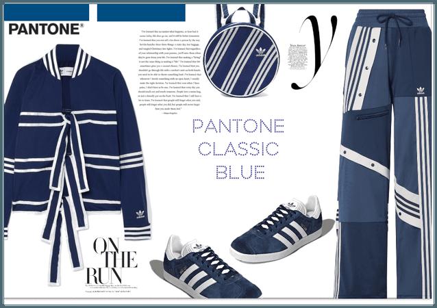 Pantone Classic Blue Adidas