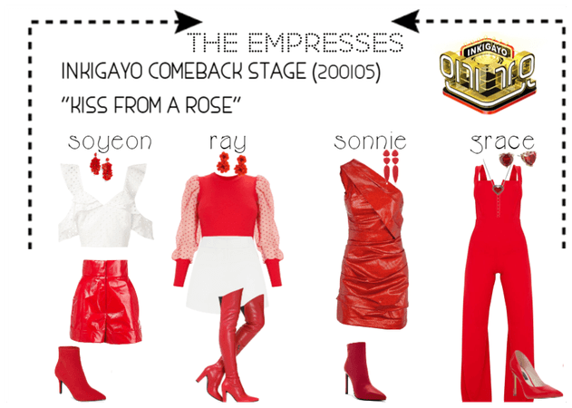 """[THE EMPRESSES] """"KISS FROM A ROSE"""" STAGE"""