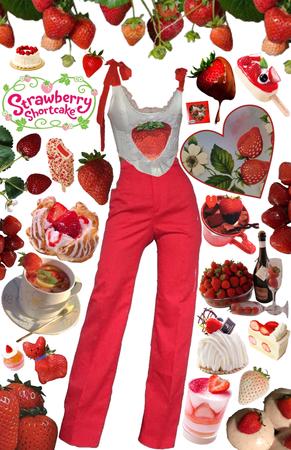 Strawberry Shortcake 🍰🍓👑