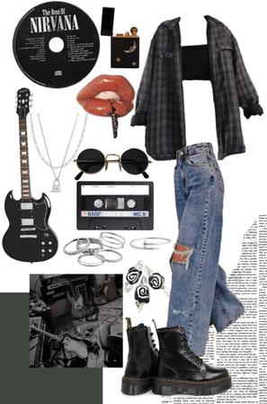 grunge rockstar