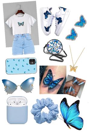 butterfly bombshell