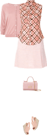 Casual outfit: Pink