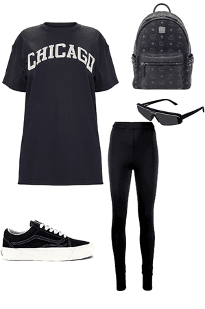 Black lazy Outfit