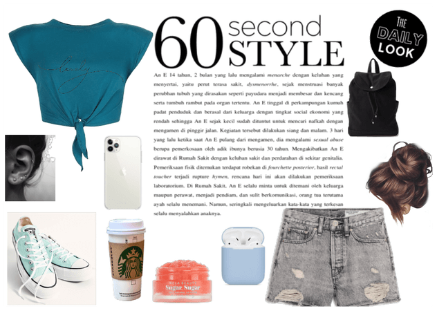 60 second outfit