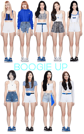 boogie up Stage 2 (fake kpop group)