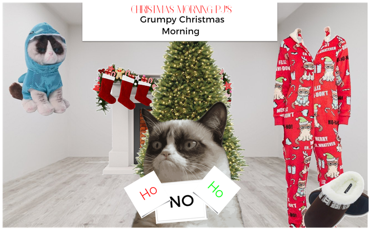 Grumpy Christmas Morning