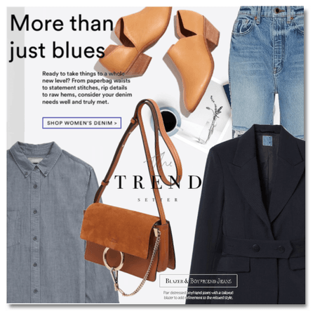 More than just blues: Blazer & Jeans