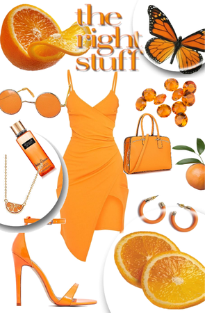 orange you glad I made this outfit😂🍊  outfit #3 based off of fruits