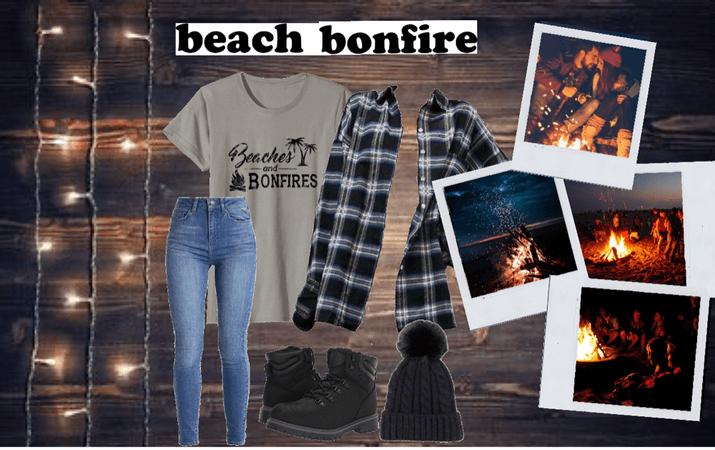 🌅🔥🏝 beach bonfire memories 🏝🔥🌅