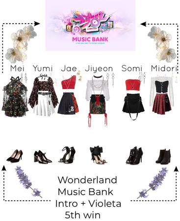 Music bank- Wonderland