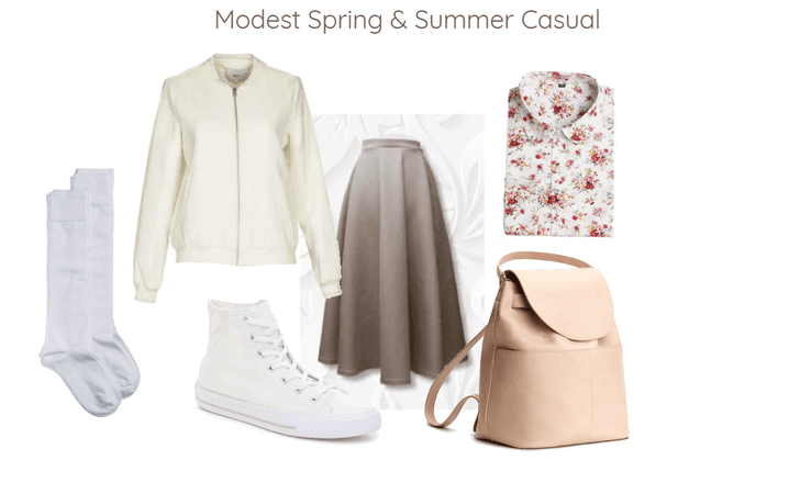 Modest Spring & Summer Casual
