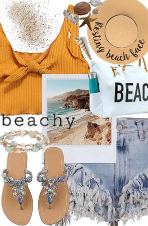 Beachy Denim shorts