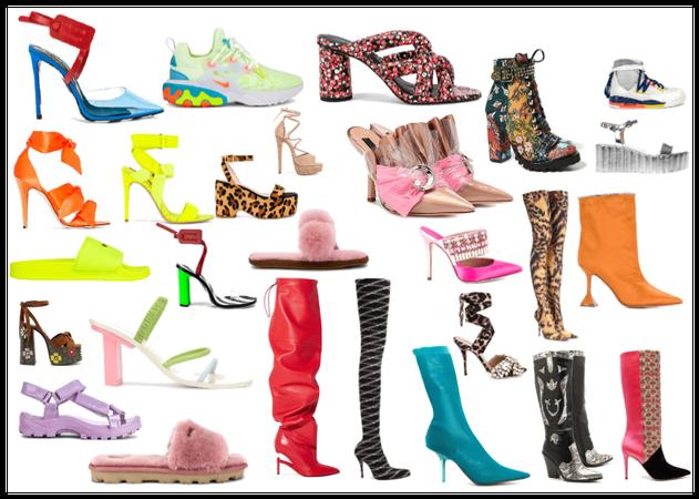 Calçados Estilo Exuberante