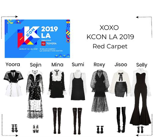 XOXO Kcon Los Angeles 2019 Red Carpet