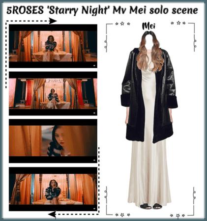 5ROSES 'Starry Night' Mv 'Mei solo scene'
