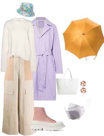 outer wear for rainy day